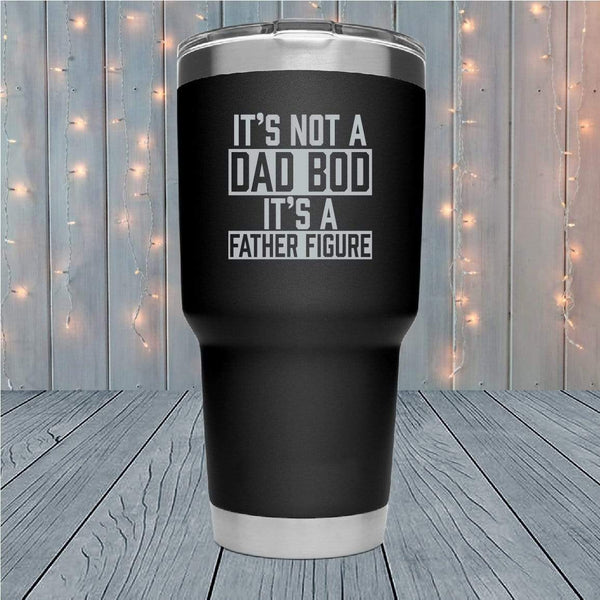 Father Figure Laser Engraved Tumblers