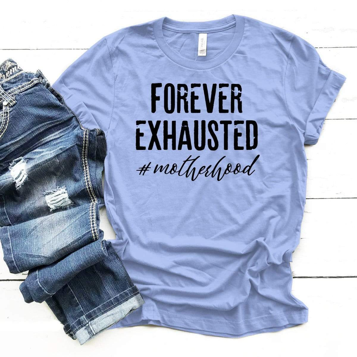 Forever Exhausted Premium Unisex T-Shirt