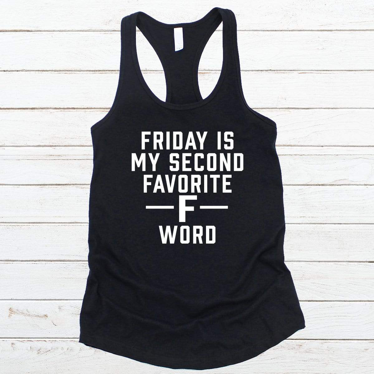 F Word V-Necks And Tank Tops