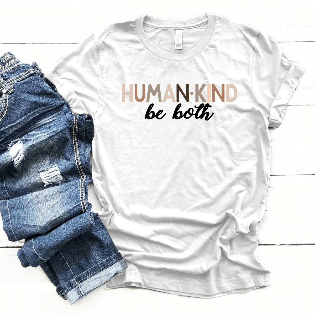 Human Kind Be Both Premium Unisex T-Shirt