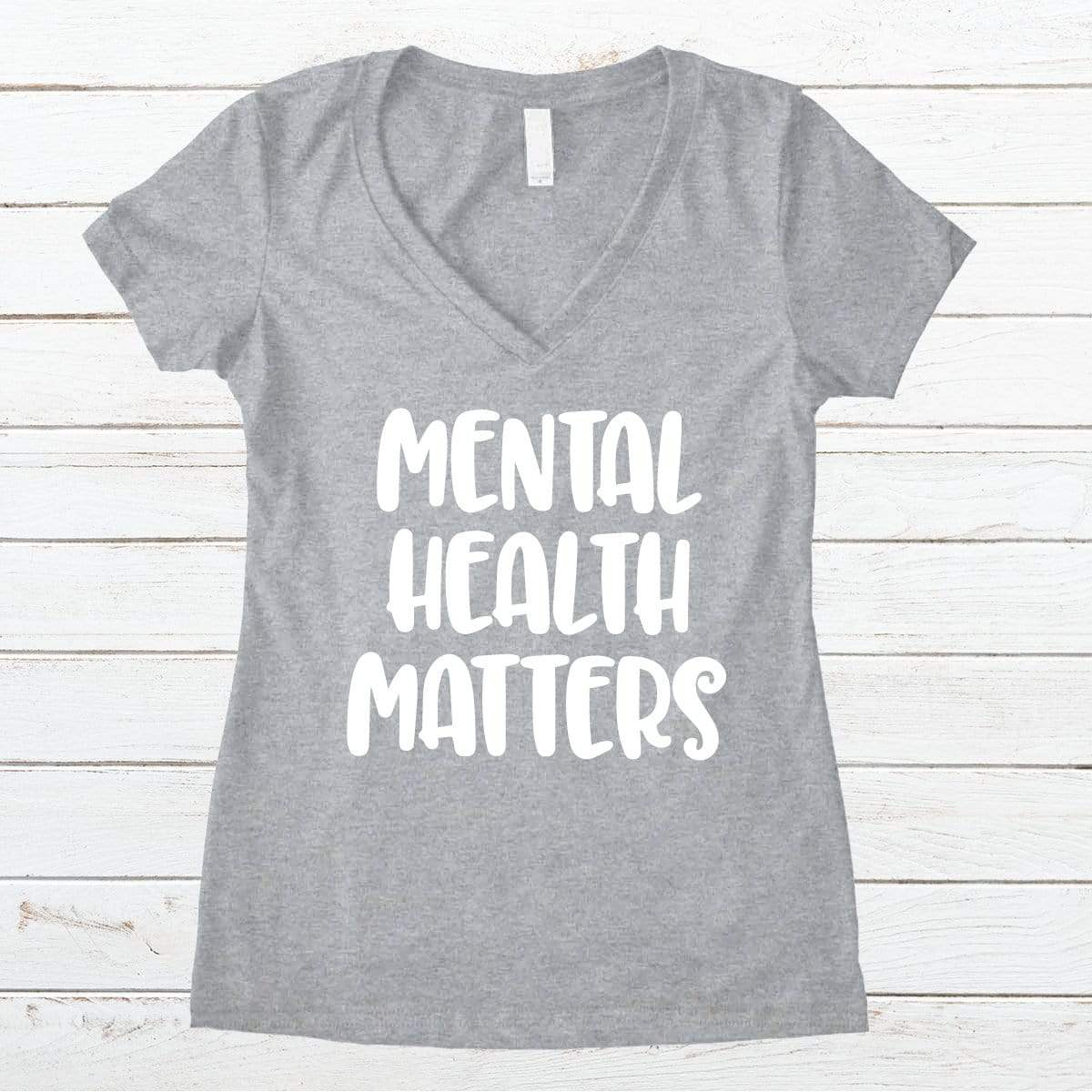 Mental Health Matters V-Necks And Tank Tops