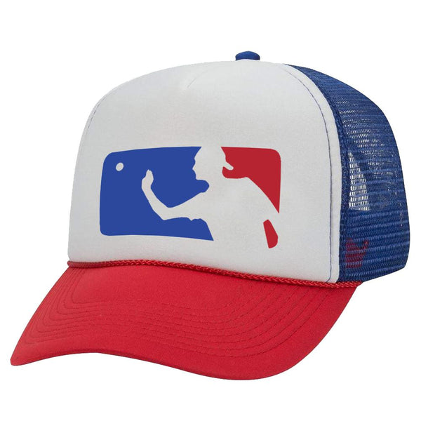 MLB BEER PONG TRUCKER HAT
