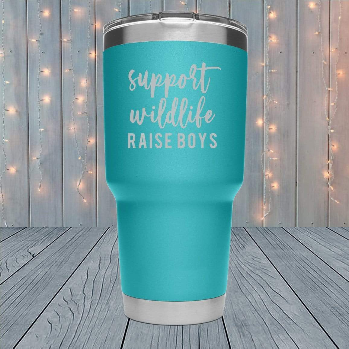 Support Wildlife Laser Engraved Tumblers
