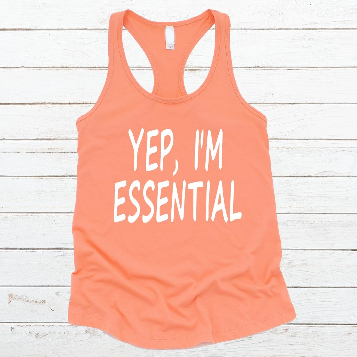 Yep I'm Essential V-Necks And Tank Tops