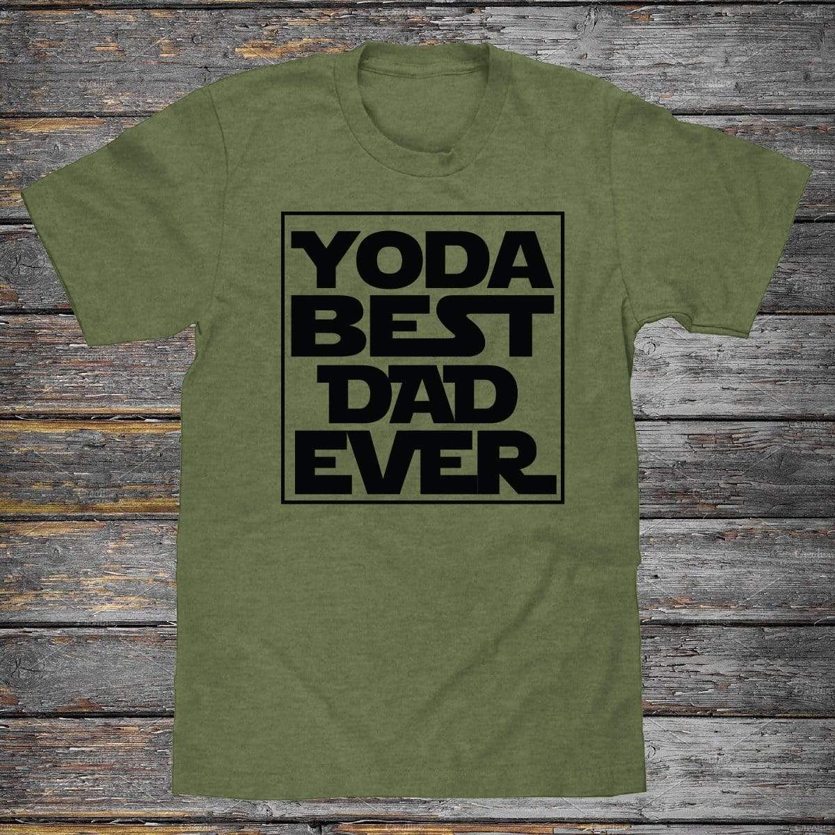 Yoda Best Dad Premium Unisex T-Shirt
