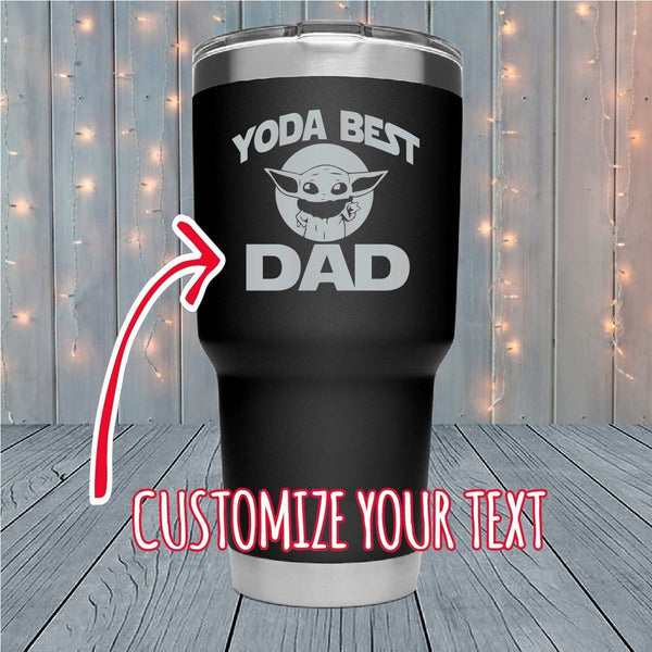Yoda Best Personalized Laser Engraved Tumblers