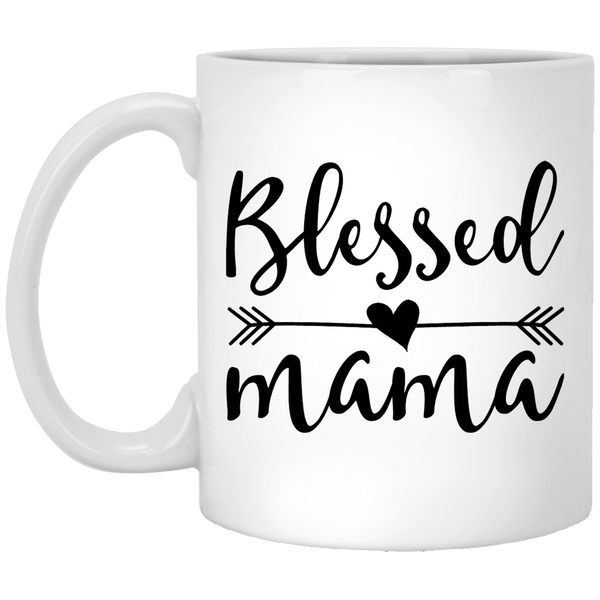 BLESSED MAMA Mother's Day Coffee Mugs