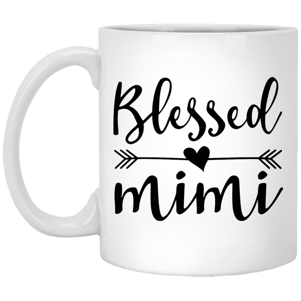 BLESSED MIMI Mother's Day Coffee Mugs