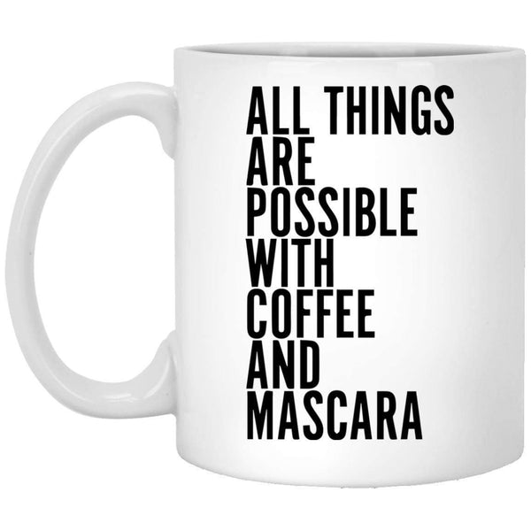 Coffee and Mascara Coffee Mug