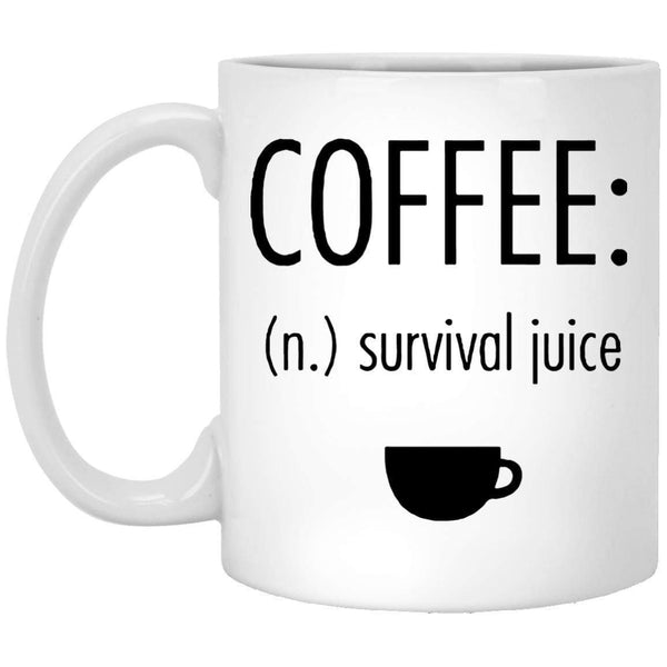 Coffee-Survival-Juice Coffee Mug