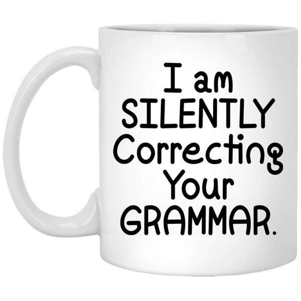 Correcting Grammar Coffee Mug