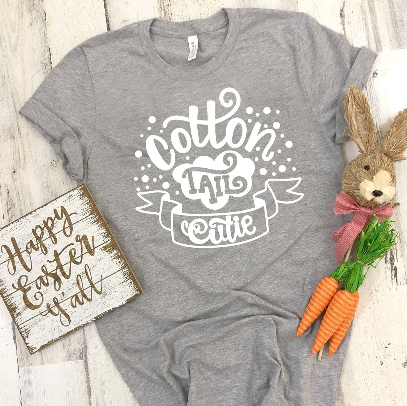 Cotton Tailed Cutie Easter T's And Crews