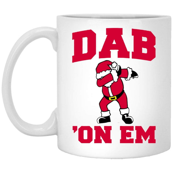 DAB ON EM Christmas Coffee Mug
