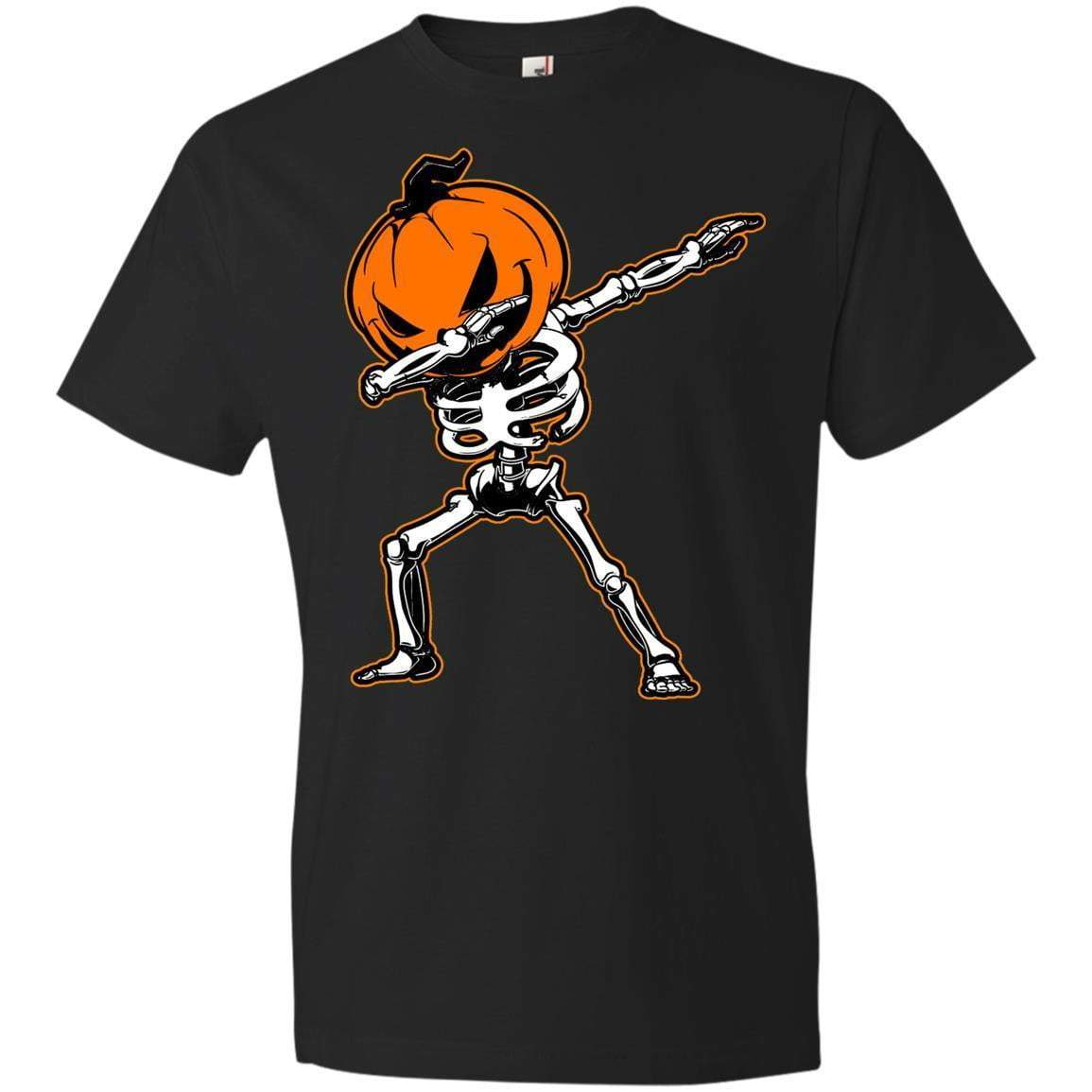 DABBING PUMPKIN HEAD Halloween T's And Crews