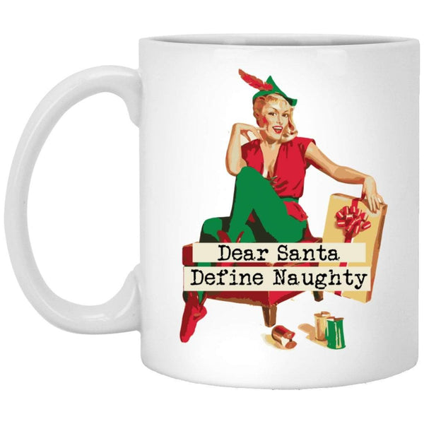 DEAR SANTA VINTAGE Christmas Coffee Mug