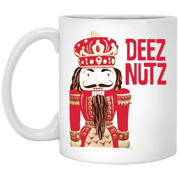 DEEZ NUTZ Christmas Coffee Mug
