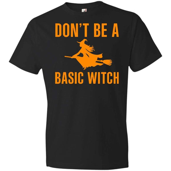 DON'T BE A BASIC WITCH Halloween T's And Crews