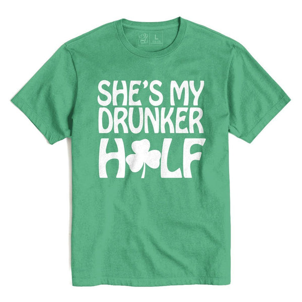 Drunker Half She's St. Patrick's T's And Crews