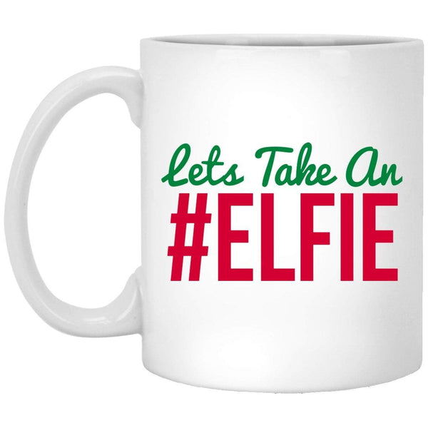 #ELFIE Christmas Coffee Mug
