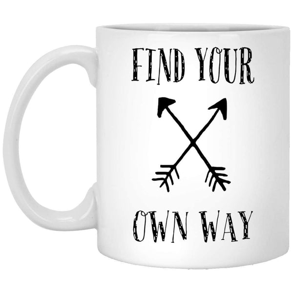 Find Your Own Way Coffee Mug