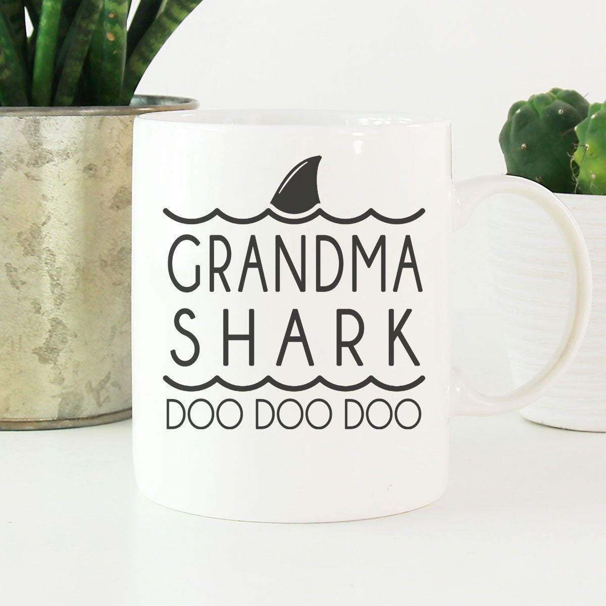 GMA SHARK Mother's Day Coffee Mugs