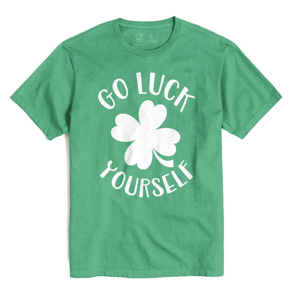 Go Luck Yourself St. Patrick's T's And Crews