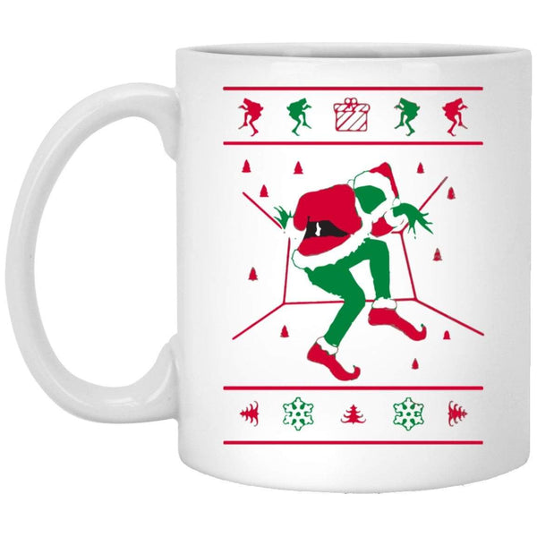 GRINCH HOTLINE BLING Christmas Coffee Mug