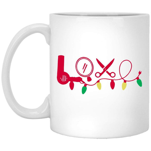 HAIRSTYLIST LOVE Christmas Coffee Mug
