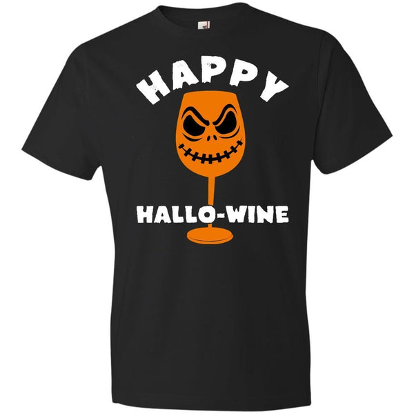 HAPPY HALLOWINE Halloween T's And Crews