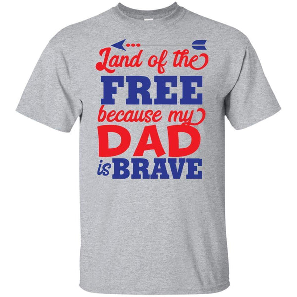 Land of the Free Dad KIDS