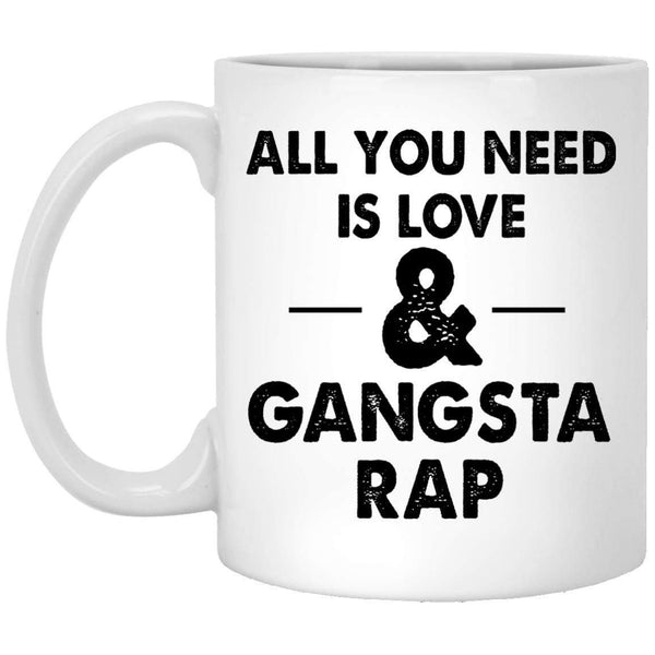 Love and Gangsta Rap Coffee Mug