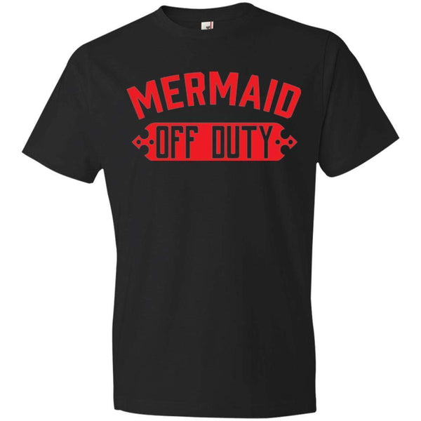 Mermaid Off Duty (Red)