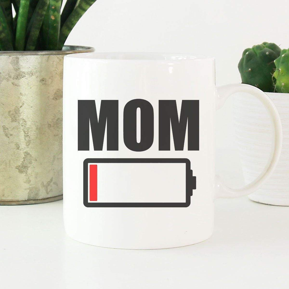 MOM BATTERY Mother's Day Coffee Mugs