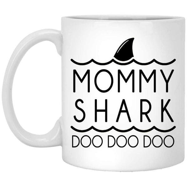 MOMMY SHARK Mother's Day Coffee Mugs