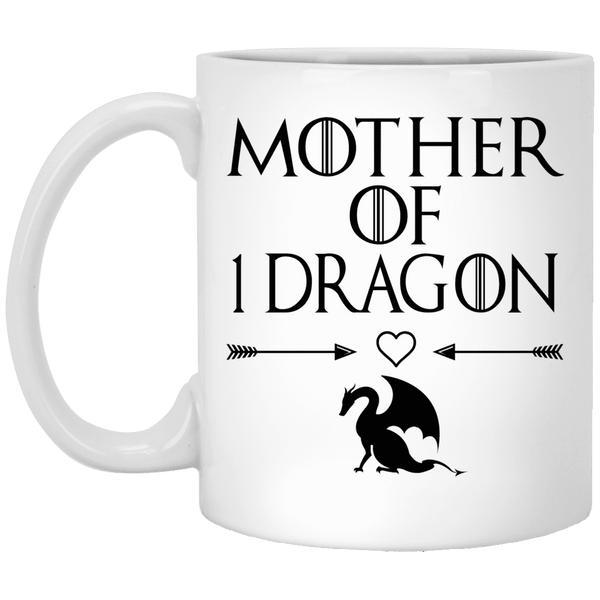 MOTHER OF 1 DRAGON Mother's Day Coffee Mugs