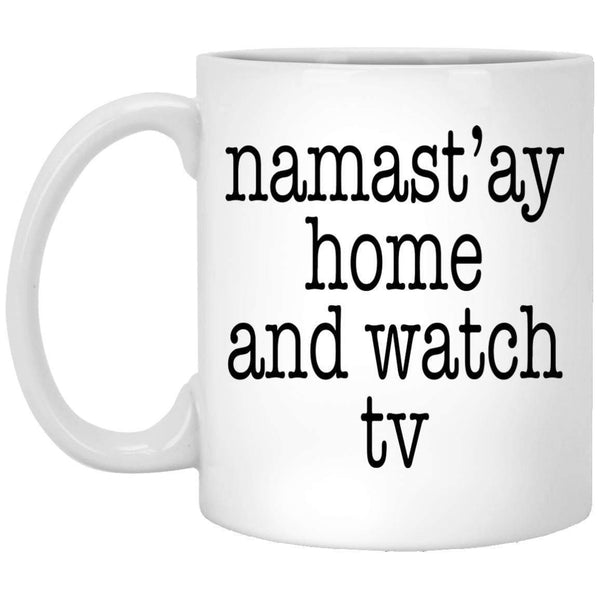 Namastay TV Coffee Mug