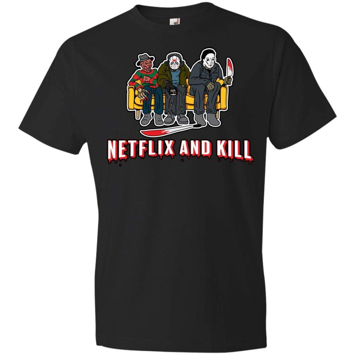 NETFLIX AND KILL Halloween T's And Crews