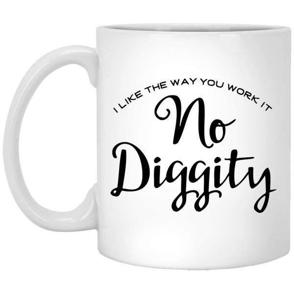 No Diggity Coffee Mug