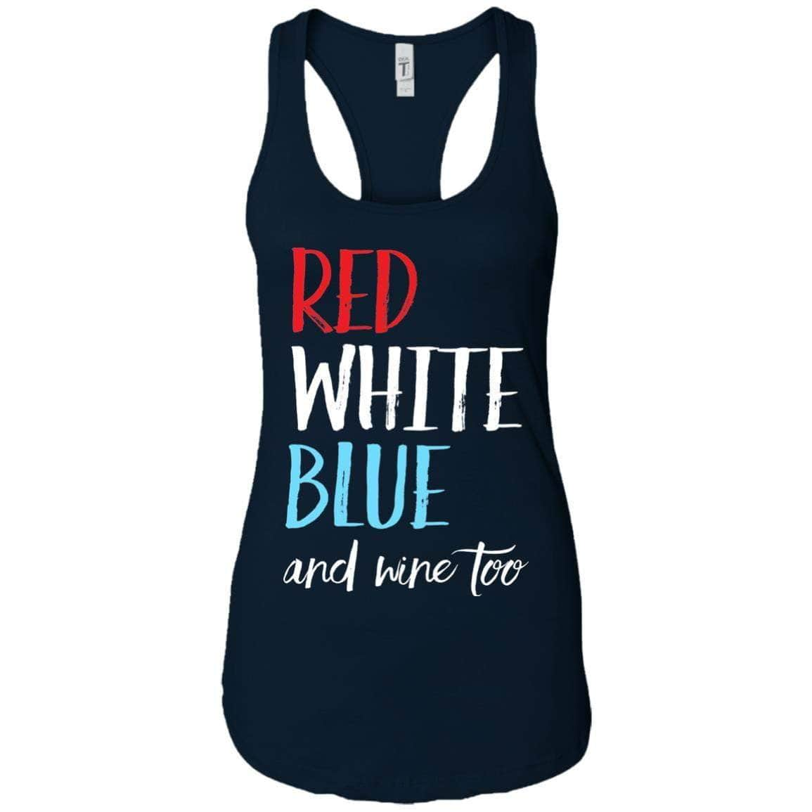 Red White Blue Wine