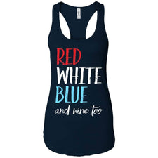 Apparel - Red White Blue Wine