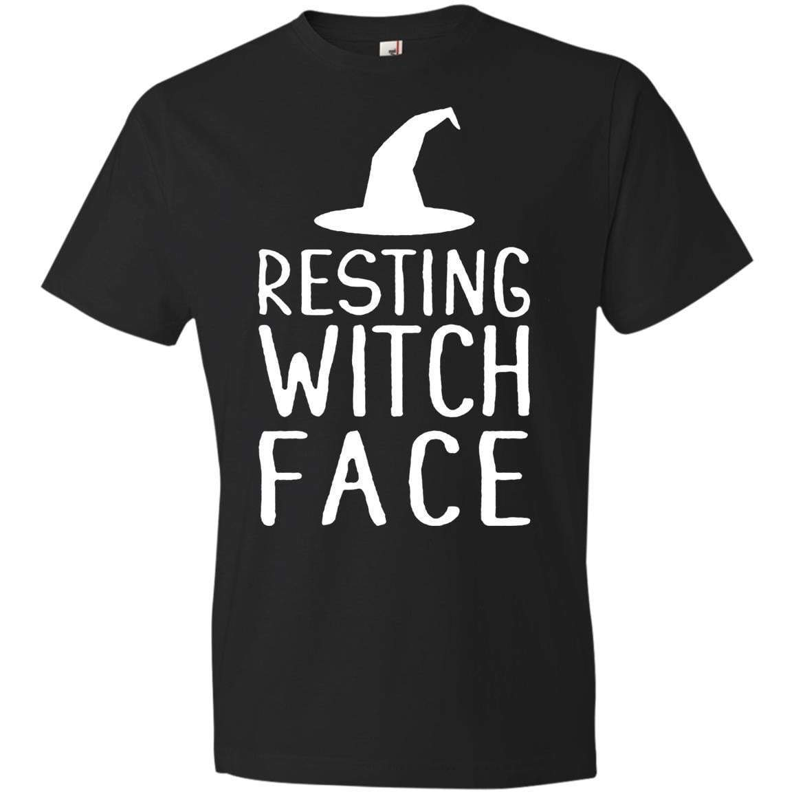 RESTING WITCH FACE Halloween T's And Crews