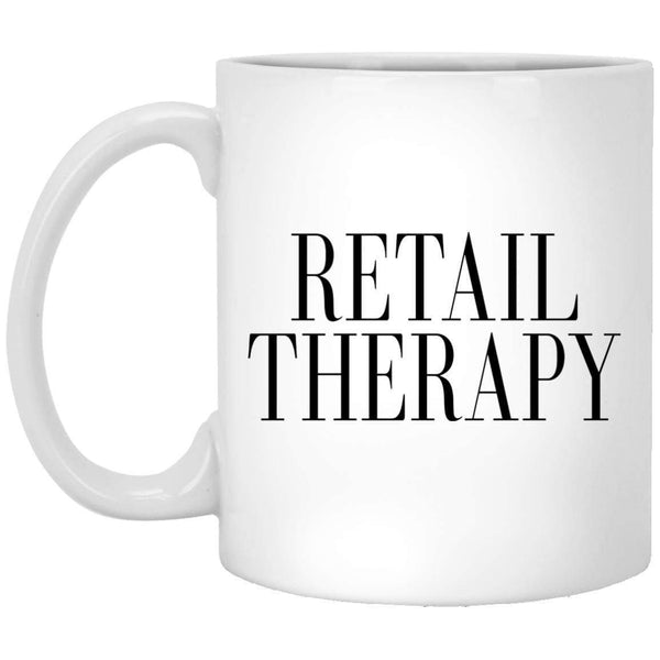 Retail Therapy Coffee Mug