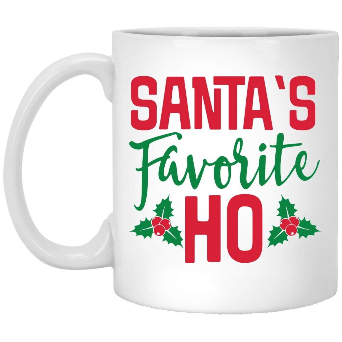 SANTA'S FAVORITE HO Christmas Coffee Mug