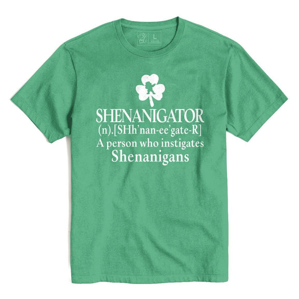 SHENANIGATOR St. Patrick's T's And Crews