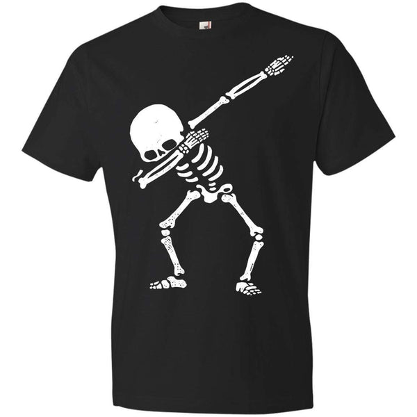SKELETON DAB Halloween T's And Crews