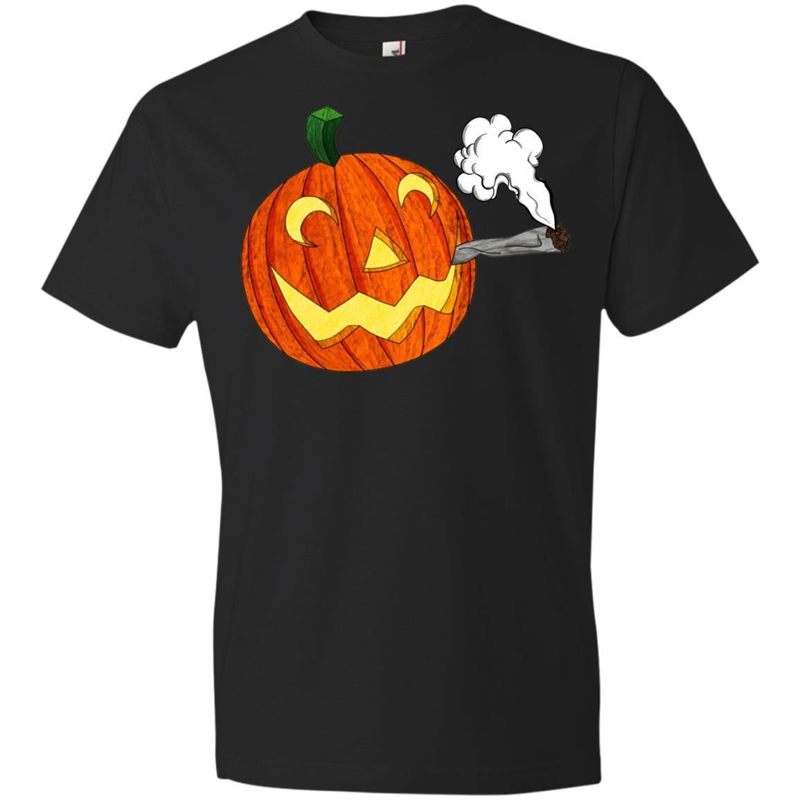 SMOKING PUMPKIN Halloween T's And Crews