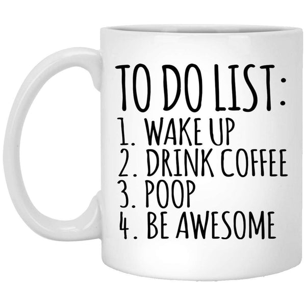 To Do List Coffee Mug