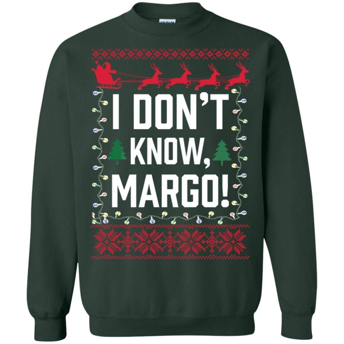TODD AND MARGO IDK Christmas T's And Crew's
