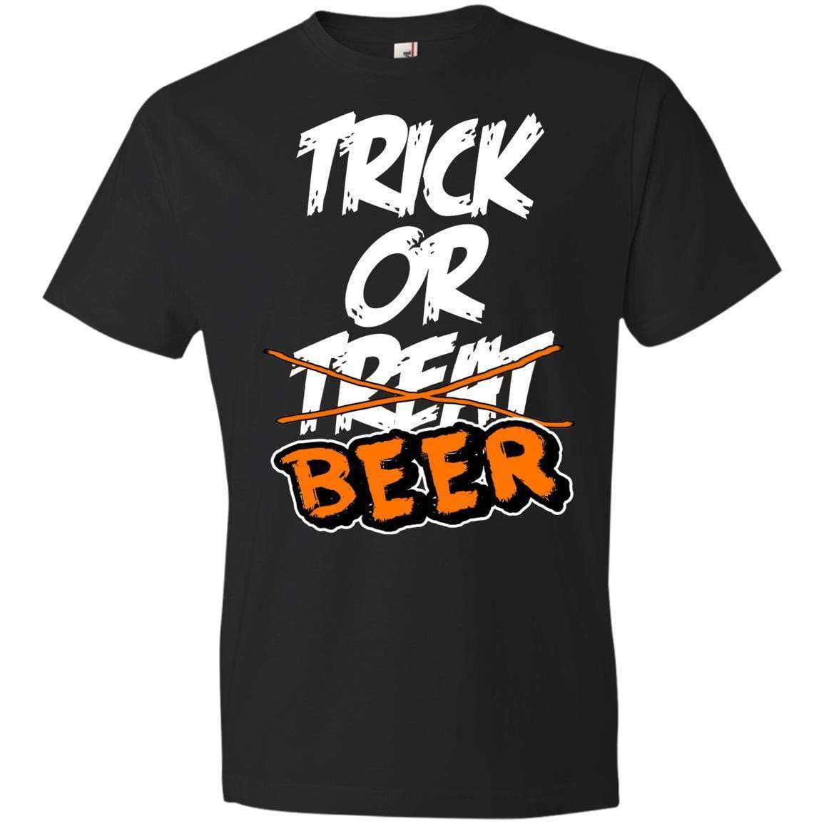 TRICK OR BEER Halloween T's And Crews