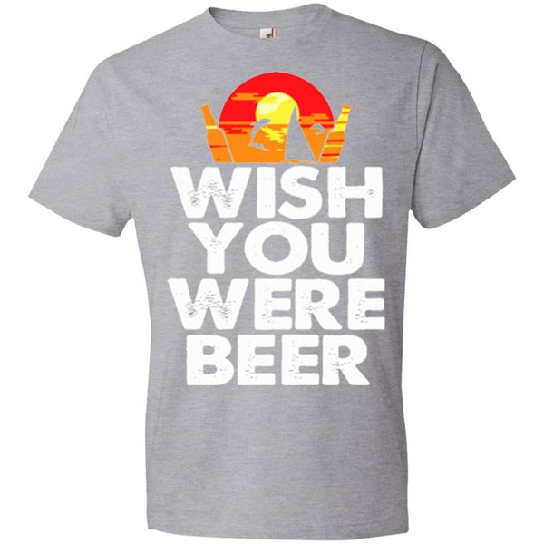 Wish You Were Beer Women's Racerback Tank Top
